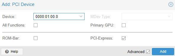 proxmox install truenas vm